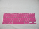 "Keyboard - Keyboard Cover Skin 0.1mm M&S Crystal Guard  for Apple MacBook Air 11"" A1370 2010 2011 Deep Pink"