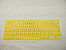 "Keyboard - Keyboard Cover Skin 0.1mm M&S Crystal Guard  for Apple MacBook Air 11"" A1370 2010 2011 Yellow"