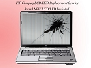 LCD/GLASS Replacement - HP Compaq Laptop Broken Screen & LCD / LED Replacement Repair Service