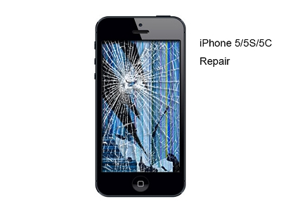 iPhone 5 5S 5C LCD LED Replacement Service