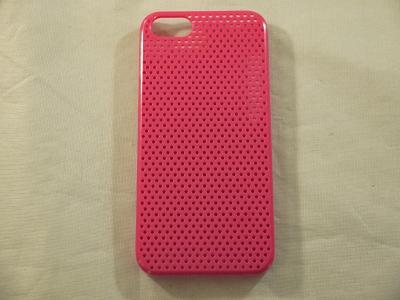 circle grid pink color protective case cover for iphone 5 5g 5s ebay. Black Bedroom Furniture Sets. Home Design Ideas
