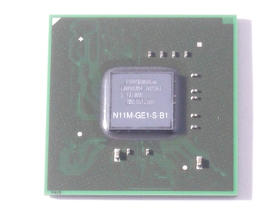 NVIDIA N11M-GE1-S-B1 BGA chipset With Lead Free Solder Balls