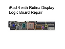 iPad 4 Repair - iPad 4 with Retina Display Logic Board Repair Service