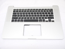 "KB Topcase - NEW Top Case Palm Rest US Keyboard without Trackpad for Apple MacBook Pro 15"" A1398 2012 Early 2013 Retina"