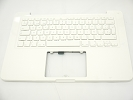 "KB Topcase - 95% NEW Top Case Palm Rest with Spanish Spain Keyboard No Speaker for Apple MacBook 13"" A1342 White 2009 2010"