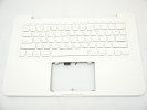 "KB Topcase - 95% NEW Top Case Palm Rest with Korean Korea Keyboard No Speaker for Apple MacBook 13"" A1342 White 2009 2010"