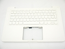 "KB Topcase - 95% NEW Top Case Palm Rest with UK Keyboard No Speaker for Apple MacBook 13"" A1342 White 2009 2010"