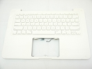 "KB Topcase - 95% NEW Top Case Palm Rest with US Keyboard No Speaker for Apple MacBook 13"" A1342 White 2009 2010"