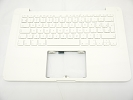 "KB Topcase - 95% NEW Top Case Palm Rest with Romania Romanian Keyboard No Speaker for Apple MacBook 13"" A1342 White 2009 2010"
