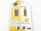 Cable - USB 2.0 Hi-Speed Cable USB A to USB B 7FT