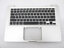 "KB Topcase - Grade B Top Case Palm Rest US Keyboard without Trackpad for Apple Macbook Pro 13"" A1278 2011 2012"