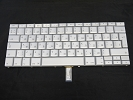 "Keyboard - 99% NEW Silver Russian Keyboard Backlit Backlight for Apple Macbook Pro 15"" A1260 2008 US Model Compatible"