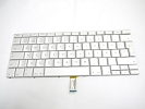 "Keyboard - 99% NEW Silver Swedish Keyboard Backlit Backlight for Apple Macbook Pro 15"" A1260 2008 US Model Compatible"