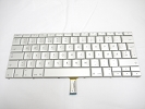 "Keyboard - 99% NEW Silver Norwegian Bokmal Keyboard Backlit Backlight for Apple Macbook Pro 15"" A1260 2008  US Model Compatible"