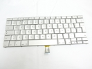 "Keyboard - 90% NEW Silver Portuguese Keyboard Backlit Backlight for Apple Macbook Pro 15"" A1260 2008 US Model Compatible"