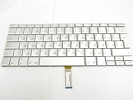 "Keyboard - 90% NEW Silver Russian Keyboard Backlight for Apple Macbook Pro 17"" A1229 2007 US Model Compatible"