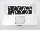 "KB Topcase - Grade B Top Case Palm Rest US Keyboard without Trackpad for Apple Macbook Pro 15"" A1286 2008"