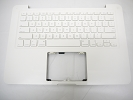 "KB Topcase - Used White Top Case Palm Rest with US Keyboard for Apple MacBook 13"" A1342 2009 2010"