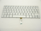 "Keyboard - 90% NEW Silver Danish Keyboard Backlit Backlight for Apple Macbook Pro 17"" A1261 2008 US Model Compatible"