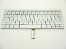 "Keyboard - 90% NEW Silver Icelandic Keyboard Backlit Backlight for Apple Macbook Pro 17"" A1261 2008 US Model Compatible"