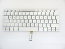 "Keyboard - 90% NEW Silver Portuguese Keyboard Backlit Backlight for Apple Macbook Pro 17"" A1261 2008 US Model Compatible"