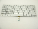 "Keyboard - 90% NEW Silver French Keyboard Backlit Backlight for Apple Macbook Pro 15"" A1260 2008 US Model Compatible"
