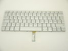 "Keyboard - 90% NEW Silver Danish Keyboard Backlit Backlight for Apple Macbook Pro 15"" A1260 2008 US Model Compatible"