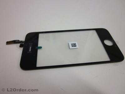 NEW LCD Display Touch Glass Screen Digitizer Panel Assembly without Home Button for iPhone 3G Black A1241 A1324