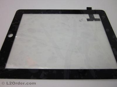 NEW Touch Screen Digitizer Display Glass Replacement without Home Button for iPad 1 WiFi A1219 3G A1337