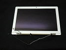 LCD/LED Screen - White Glossy LCD Screen Display Assembly for Apple Macbook A1181 2006 Mid 2007