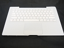 "KB Topcase - NEW White Top Case Palm Rest with US Keyboard and Trackpad Touchpad for Apple MacBook 13"" A1181 Late 2007 2008 2009"