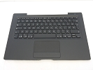 KB Topcase - 99% NEW Black Top Case Palm Rest with Frech Candian Keyboard and Trackpad Touchpad for A1181 2006 Mid 2007