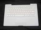 "KB Topcase - 99% NEW White Top Case Palm Rest with Taiwanese Keyboard Trackpad Touchpad for Apple MacBook 13"" A1181 2006 2007 also Compatible with 2008 2009"