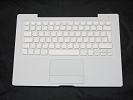 "KB Topcase - 99% NEW White Top Case Palm Rest with Arabic Keyboard Trackpad Touchpad for Apple MacBook 13"" A1181 2006 2007 also Compatible with 2008 2009"