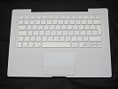 "KB Topcase - 99% NEW White Top Case Palm Rest with French Canadian Keyboard Trackpad Touchpad for Apple MacBook 13"" A1181 2006 2007 also Compatible with 2008 2009"
