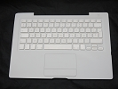 "KB Topcase - 99% NEW White Top Case Palm Rest with French Keyboard Trackpad Touchpad for Apple MacBook 13"" A1181 2006 2007 also Compatible with 2008 2009"