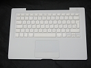 "KB Topcase - 99% NEW White Top Case Palm Rest with Danish Keyboard Trackpad Touchpad for Apple MacBook 13"" A1181 2006 2007 also Compatible with 2008 2009"