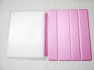 IPad Case - Shining Pink Slim Smart Magnetic Cover Case Sleep Wake with Stand for Apple iPad 2 3 4