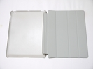 IPad Case - Gray Slim Smart Magnetic PU Leather Cover Case Sleep Wake with Stand for Apple iPad 2 3 4