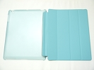 IPad Case - Sky Blue Slim Smart Magnetic PU Leather Cover Case Sleep Wake with Stand for Apple iPad 2 3 4