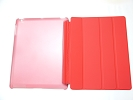 IPad Case - Red Slim Smart Magnetic PU Leather Cover Case Sleep Wake with Stand for Apple iPad 2 3 4