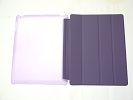 IPad Case - Purple Slim Smart Magnetic PU Leather Cover Case Sleep Wake with Stand for Apple iPad 2 3 4