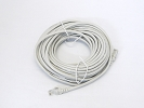 Cable - 50 FT 15M ETA/TIA CAT5e CAT5 RJ45 Ethernet LAN Network Patch Cable Grey Snagless Male