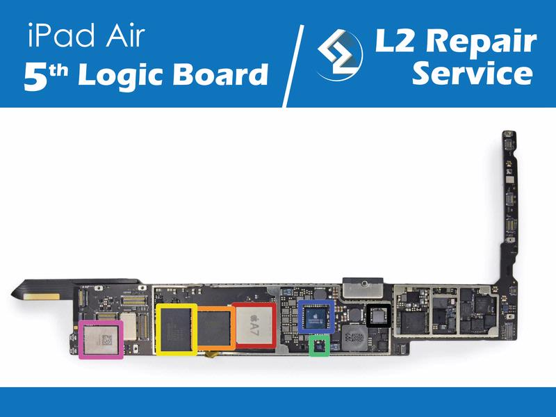 iPad Air 5th Logic Board Repair Service