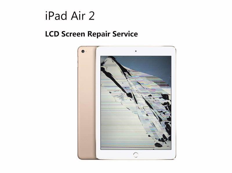 iPad Air 2 6th Gen LCD LED Repair Replacement Service