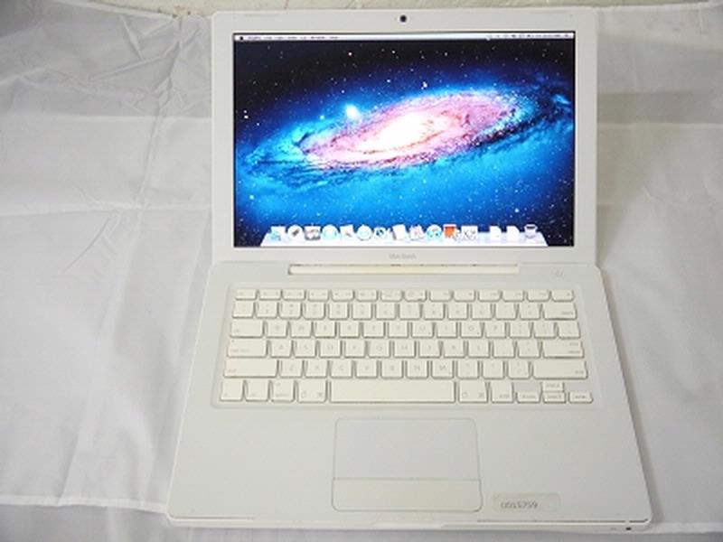 "USED Fair Apple White MacBook 13"" A1181 Mid-2009 MC240LL/A EMC 2330 2.13 GHz Core 2 Duo 2GB Ram 160GB HDD GeForce 9400M 256MB Laptop"