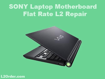 Sony Laptop Repair Service