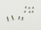 "Screw Set - Apple Macbook Air 13"" A1237 A1304 2008 2009 Bottom Screw Screws Set 10 pieces - 4 Long 6 Short"