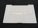 "KB Topcase - NEW White Top Case Palm Rest with US Keyboard and Trackpad Touchpad for Apple MacBook 13"" A1181 2006 Mid-2007"