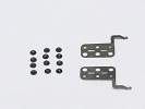 "Screw Set - Apple MacBook Air 13"" A1369 A1466 11"" A1370 A1465 2010 2011 2012 Trackpad Touchpad Screw Screws 12PCs"